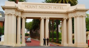 The Mount Nelson Hotel, in Cape Town, South Africa